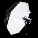Hensel Ombrello Master PXL 135cm bianco